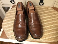 Cole Haan Air Mens 9M Brown Moc Slip-On Loafer  shoes Size 9M