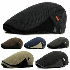 New Men's Ivy Hat Berets Cap Golf Driving Sun Flat Cabbie Newsboy Cap-Fashion