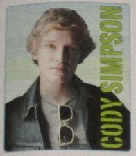 New Cody Simpson Portrait SOFT Fleece Throw Blanket Gift 50x60 Photo Image Warm