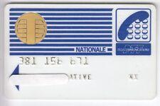 TELECARTE / PHONECARD .. CARTE FRANCE TELECOM PYJAMA NAT. 1987 PUCE CP8 BULL N°1