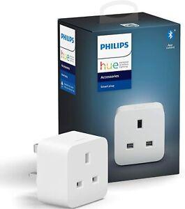 !Philips Hue Smart Plug with Bluetooth [Energy Class A++] [Energy Class A++] UK