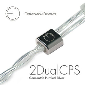 OEAudio 2DualCPS Silver Line Upgrade Cable 2.5mm 3.5mm 4.4mm Type-C Connector