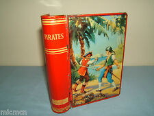 "CHAD VALLEY TIN-PLATE MODEL No.xx    ""PIRATES"" LOCKING MONEY BOX  WITH KEY"