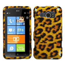 For AT&T HTC Titan II 2 HARD Protector Case Snap On Phone Cover Leopard