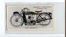 (Ju187-100) Lambert & Butler,Motor Cycles, New-Imperial ,1923 #33