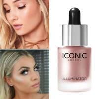 Makeup Highlighter Cream Concealer Shimmer Face Glow 3D Highlighter Liquid Glow