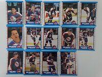 1989-90 O-Pee-Chee OPC Winnipeg Jets Team Set of 14 Hockey Cards