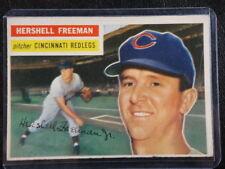 1956 Topps #242 Hershell Freeman Cincinnati Redlegs