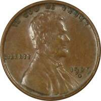 1929 D Lincoln Wheat Cent AU About Uncirculated Bronze Penny 1c Coin Collectible