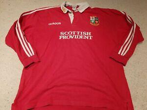 British & Irish Lions - 1997 Replica Tour Jersey by Adidas - Heavy Cotton - Red