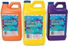 One Miracle Liquid Soap Bubbles Machine Solution Refill 64 Oz Bottle Big Bubbles