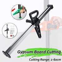 20-600mm Manual Gypsum Board Hand Push Drywall Cutter Artifact Tool Cutting Cut