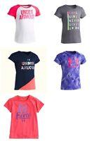 Under Armour Little Girls Raglan Print Shirt Choose Color Size 5