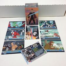 STAR WARS: THE CLONE WARS (Topps/2004) Complete Trading Card Set - FIRST RELEASE