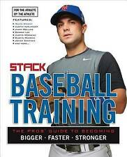 NEW Baseball Training: The Pros' Guide to Becoming Bigger, Faster, Stronger