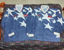 Original ADIDAS USA 1994 WORLD CUP US SOCCER JERSEY LONG SLEEVE DEMIN