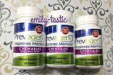* NEW PREVAGEN CHEWABLES Mixed Berry Quincy Improves Memory 3 PACK 90CT