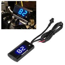 Termometro Digitale da Pannello LED Blu 0 ~ +120℃ DC 12V Moto Racing Scooter