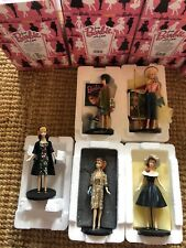 From Barbie With Love Figurine Lot Of 5 Poodle, Picnic, Evening, After 5, Easter