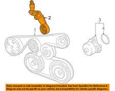 TOYOTA OEM 98-08 Corolla-Serpentine Drive Fan Belt Tensioner 166200W093