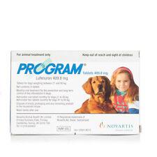 6 Pack Program Tablets Flea Prevention Treatment - Large Dog 21-80Kg