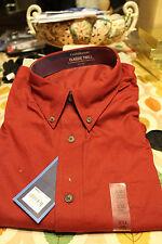 Croft & Barrow Classic Twill Long Sleeve Shirt XXL new Dark Red