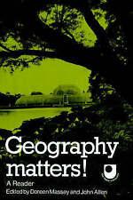 Geography Matters!: A Reader (Open University Set Book) by Massey, Doreen