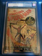 the amazing spiderman #1, CGC universal grade 1.8, Fantastic Four crossover