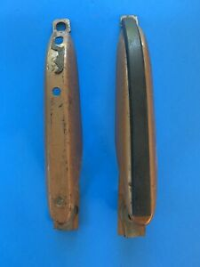 1967-1968 Ford Mustang Shelby REAR Bumper Guards Original GT350  #3384a