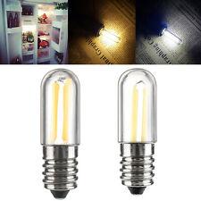 Dimmable LED Fridge Freezer Filament Light Bulb Mini E14 E12 1W 2W 4W Lamp SS857