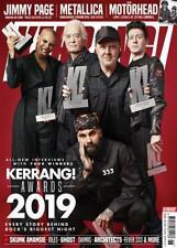 KERRANG! MAGAZINE #1779 - 29th JUNE 2019 ~ KERRANG! AWARDS, MOTORHEAD, METALLICA