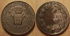 Médaille Champagne, Société Industrielle de Reims, J L Chemin, fin 19° siècle !!