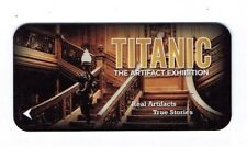 TITANIC LUXOR Room KEY LAS VEGAS Casino Hotel - GRAND STAIRCASE - Exhibit