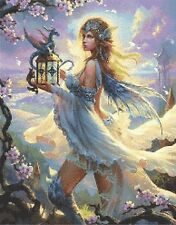 DRAGON FAIRY # 5 - CROSS STITCH CHART