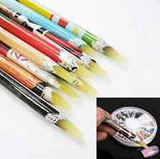 Wax Resin Rhinestones Picker Pencil Crafts Nail Art Deco Pick Up Pen Long 1pc HS