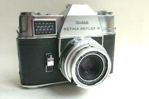 Vintage KODAK RETINA REFLEX 111 with 50mm/f2.8 Schneider Xenar lens