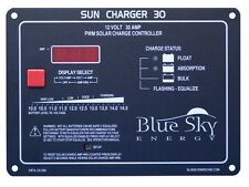 BlueSkyEnergy SC30 30A PWM Solar Regulator Panel Mount - High Quality USA MADE
