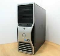 Dell Precision T5500 Windows 10 Tower PC Intel Xeon E5645 2.4GHz 16GB 320GB HDD