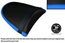 DESIGN 2 L BLUE BLACK VINYL CUSTOM FOR KAWASAKI Z750 Z1000 04-06 REAR SEAT COVER