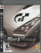 Gran Turismo 5 Prologue (Playstation 3 PS3) Complete w. Manual