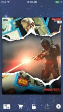Topps Star Wars Digital Card Trader Shred Jango Fett Insert