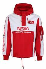 ALPHA INDUSTRIES Limited Edition NASA Scientific Odyssey Jacket | Red/White