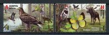 Belarus 2018 MNH RCC Nature Reserves 2v Set Birds Butterflies Trees Stamps