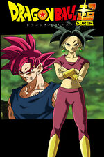 Dragon Ball Super Poster Kefla and Goku 12in x 18in Free and Fast Shipping