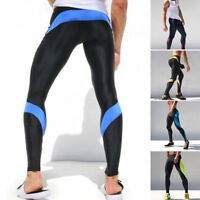 Men Compression Base Layer Stretchy Pants Running Sports YOGA Leggings GYM Tight