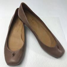 Coclico Flats Brown Leather Womens Size 37.5