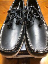 Polo Vintage Black Leather Shoes 12