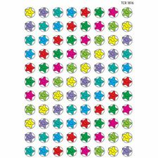 Happy Stars Mini Stickers Teacher Created Resources Tcr1816