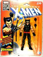 "Marvel Legends 80th Aniv. Uncanny X-Men Wolverine 6"" Action Figure Free Shipping"