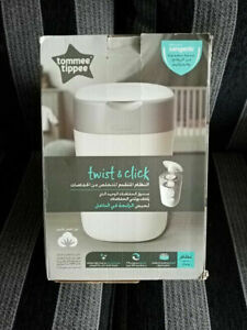 Tommee Tippee Twist & Click Sangenic Nappy Disposal System (White)